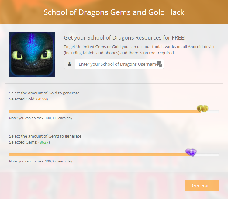 The School of Dragons Gems and Gold Hack Version 6.07 (Daily Updated 2018)